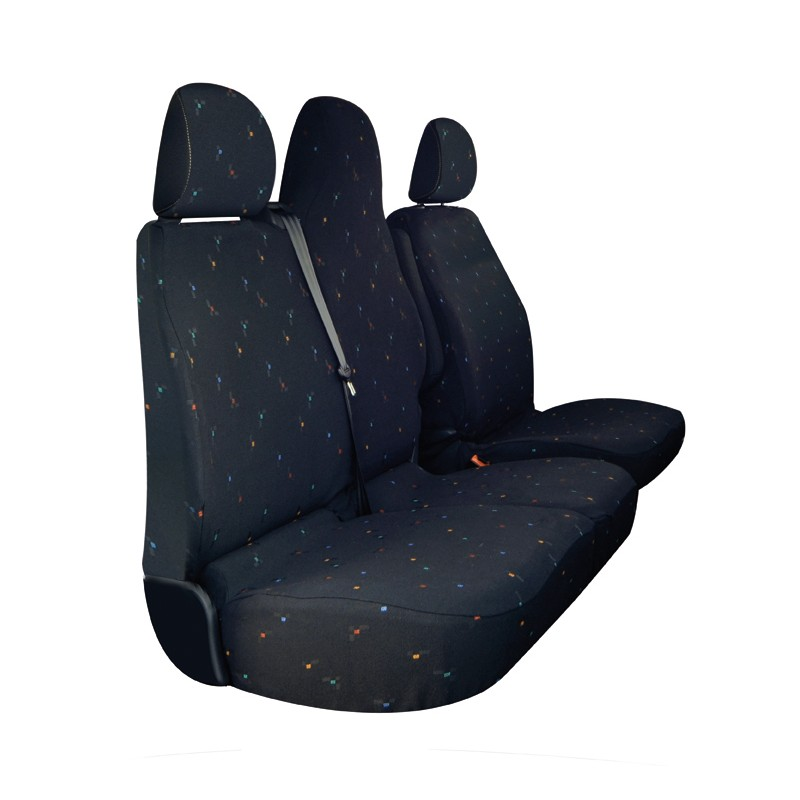 housses utiltaires renault trafic simili cuir france housses. Black Bedroom Furniture Sets. Home Design Ideas