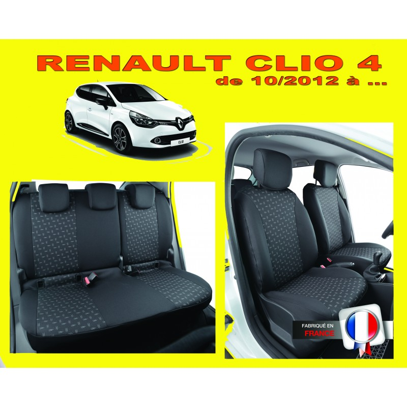 housse de siege auto sur mesure privil ge renault clio 4. Black Bedroom Furniture Sets. Home Design Ideas